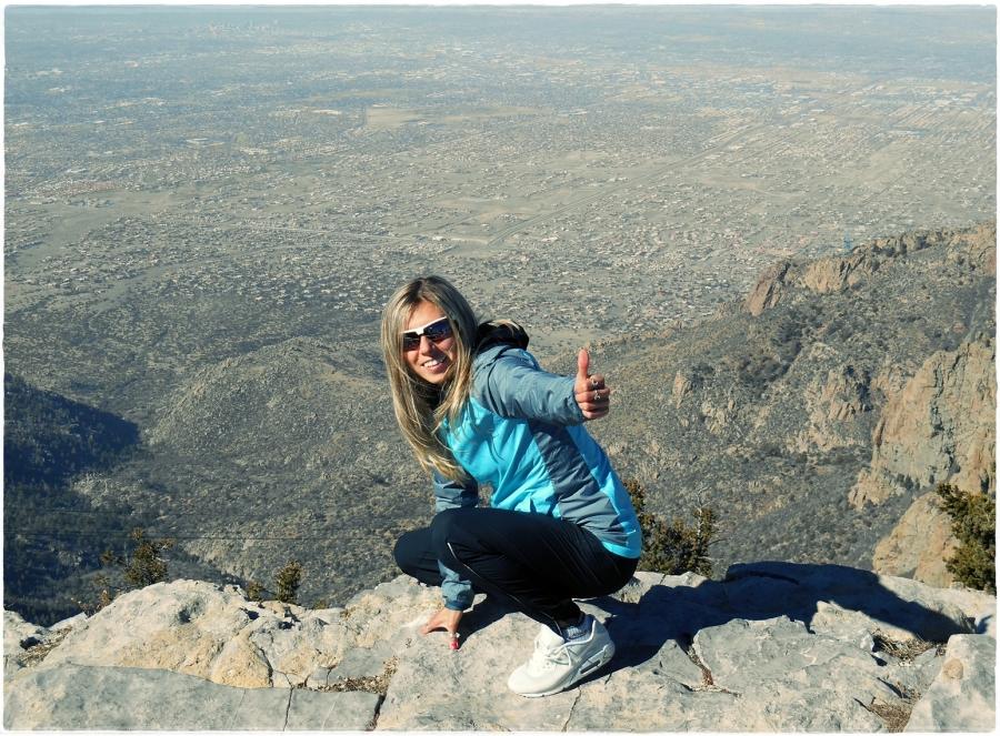 Iwona Lewandowska Sandia Peak (archiwum własne)