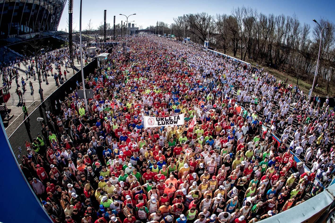 Orlen Warsaw Marathon. Fot. S. Wolny