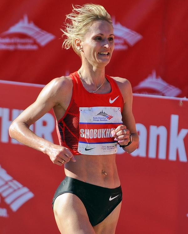 Chicago Marathon. Lili Shobukhova. Fot. PAP