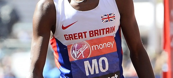 London Marathon - Mo Farah dotarł na metę jako 8. Fot. PAP