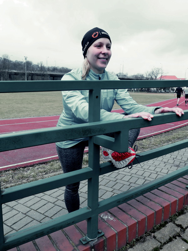Agnieszka Kruszewska-Senk - ćwiczenia dla biegaczy Fot. Magda Ostrowska Dołęgowska 02