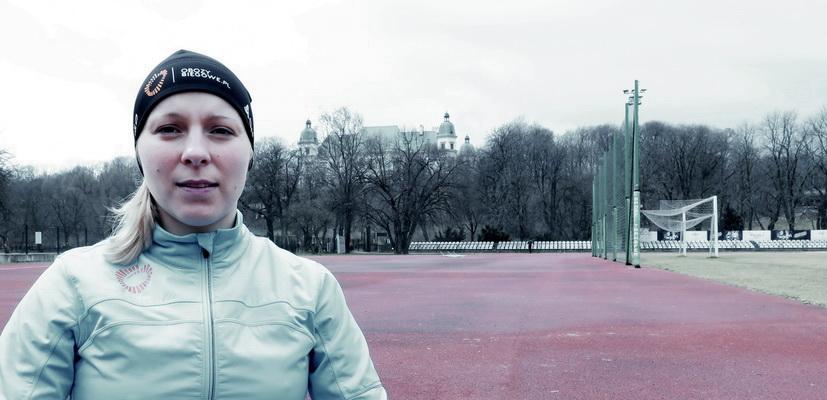Agnieszka Kruszewska-Senk - ćwiczenia dla biegaczy Fot. Magda Ostrowska Dołęgowska 10