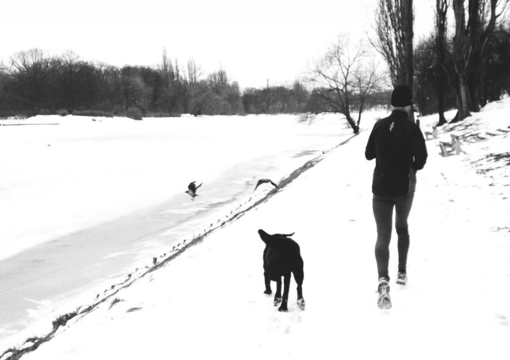 Darek z psem - Eto. Fot. Filip Bojko.