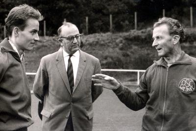 Ernst van Aaken po prawej. Fot. Wikimedia Commons