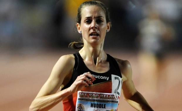 Molly Huddle na Payton Jordan Invitational. Fot. Facebook.com/Flotrack