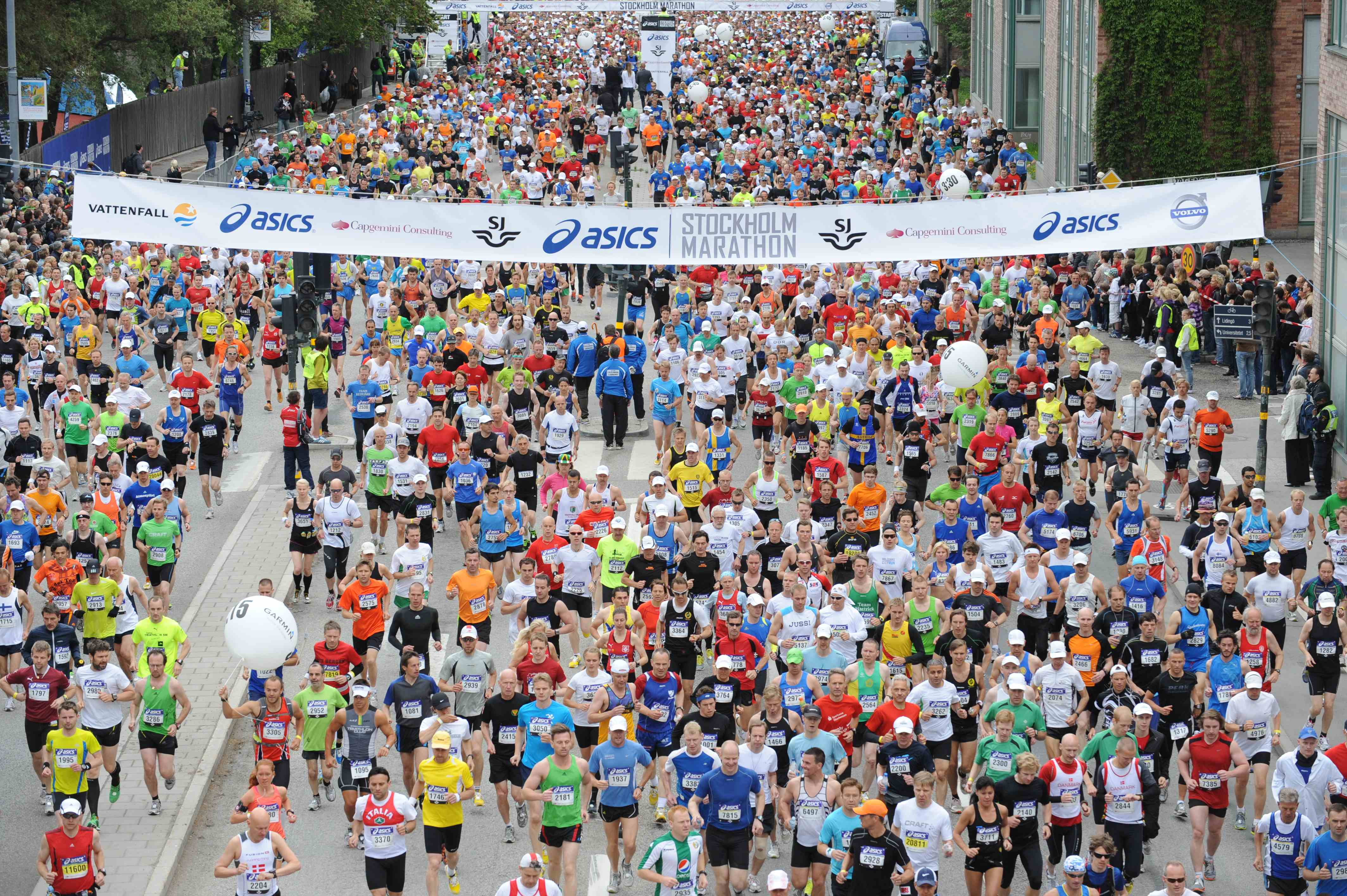 Asics Stockholm Marathon, fot. materiały prasowe
