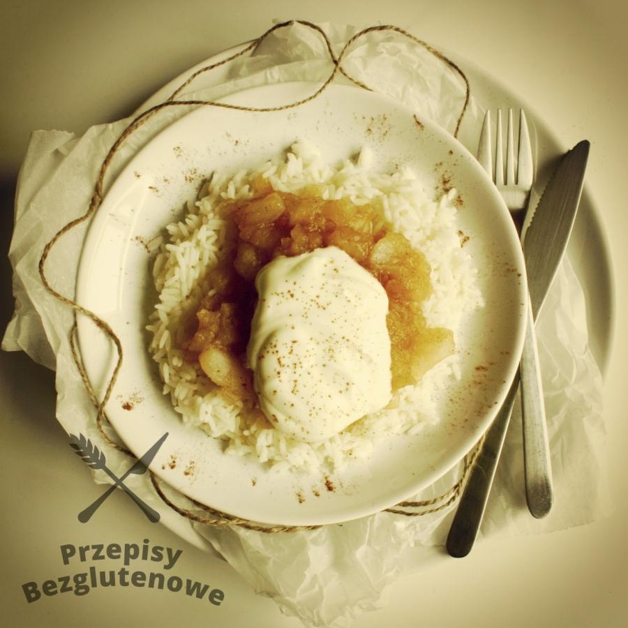Ryż z jabłkami i śmietaną Fot. Marta Szewczuk