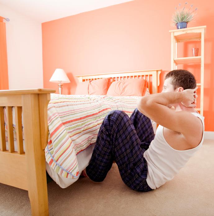 ćwiczenia w domu fot. istockphoto.com