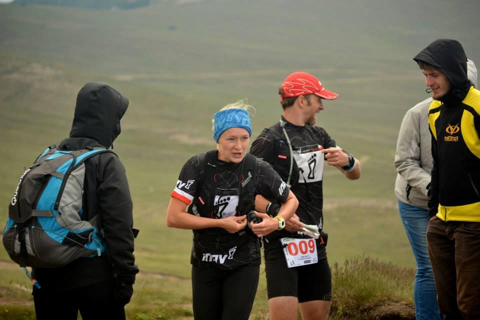 Marathon 7500 - punkt na Babele. Fot. Izabella Daiana