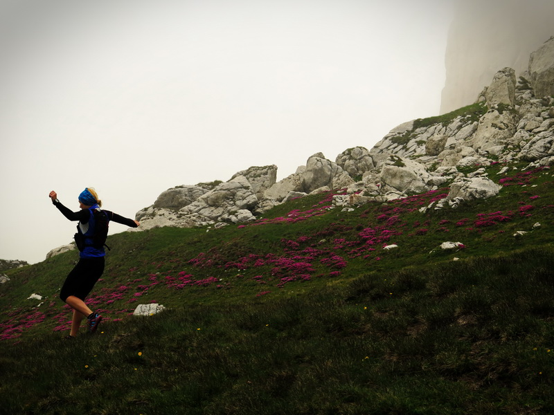 Bieganie w Bucegach w Rumunii. Fot. Krzysztof Dołęgowski