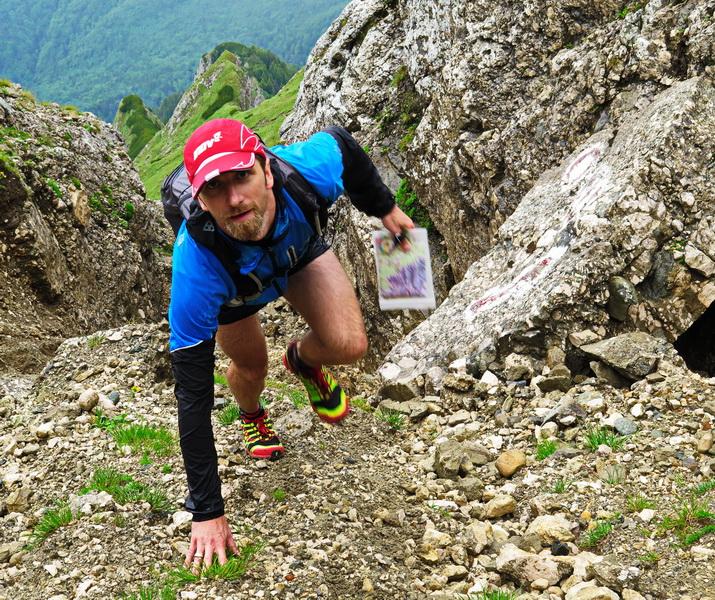 Bieganie w Bucegach w Rumunii. Fot. Magda Ostrowska-Dołęgowska