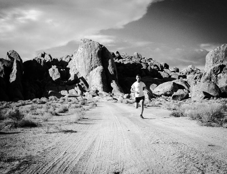 W drodze na Badwater Ultramarathon. Darek Strychalski. Fot. Filip Bojko
