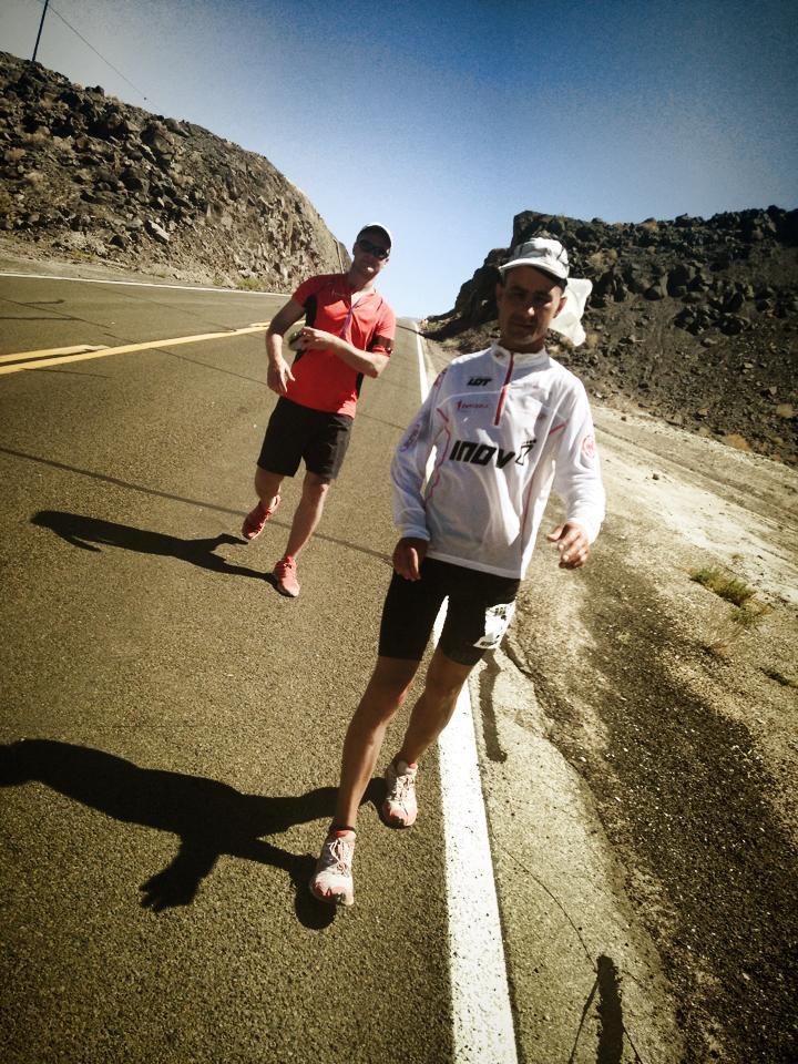 Po kryzysie - Darek Strychalski w Badwater Ultramarathon Fot Fb Zwycięzca