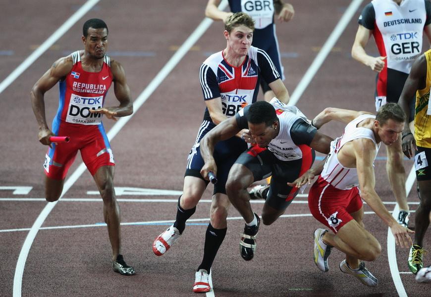 Mistrzostwa Świata w Lekkoatletyce w Osace w 2007 roku. Fot. Andy Lyons/Getty Images
