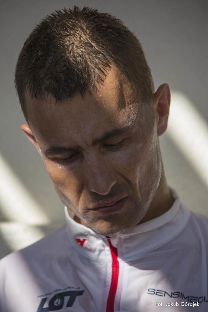 Darek Strychalski na Badwater Ultramarathon. Fot. Jakub Górajek