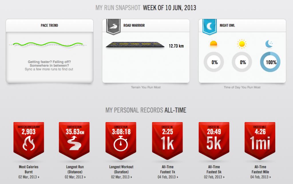 Nike + Aplikacja do biegania