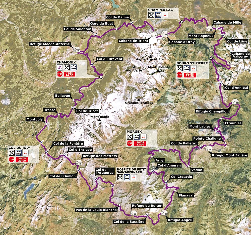 PTL 2014 - mapa