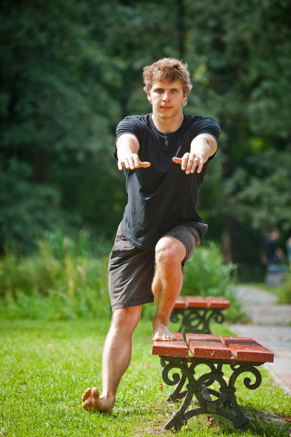 Ćwiczenia asymetryczne Fot. Rafał Nowakowski 08