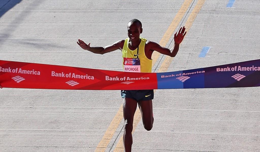 Eliud Kipchoge Chicago Marathon 2014