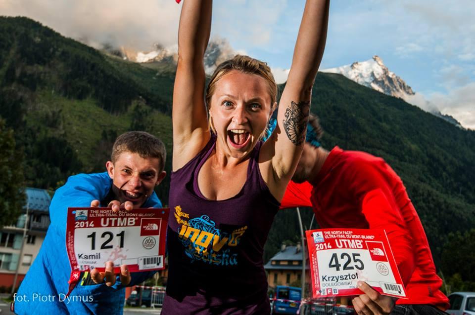 Magda w Chamonix UTMB 2014