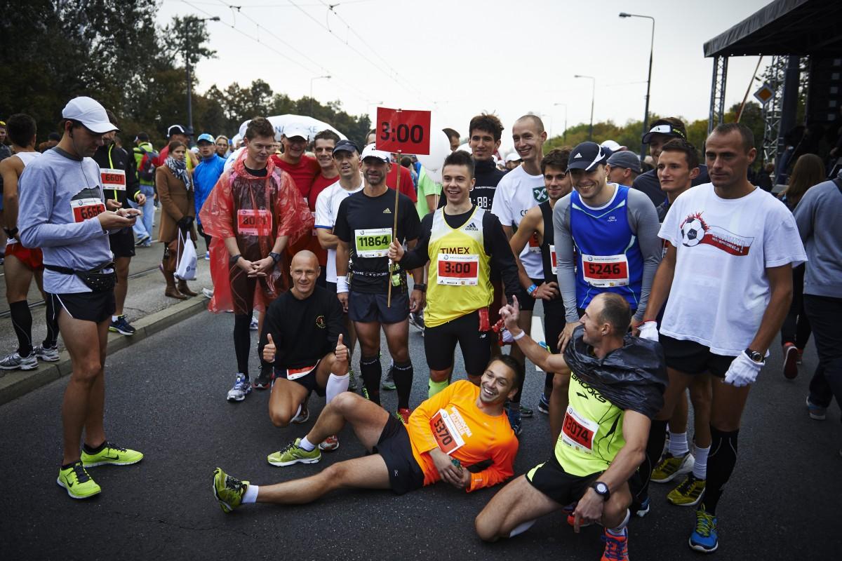 Pacemaker. Maraton Warszawski 2013. Fot. Filip Zwierzchowski