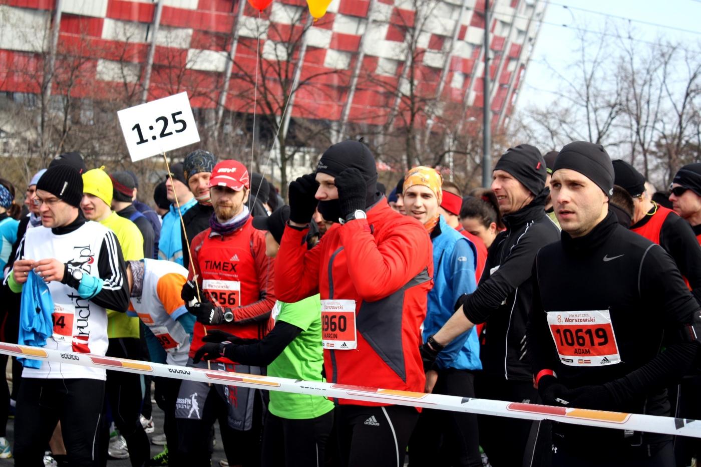 Pacemaker. Półmaraton Warszawski 2013. Fot. Marta Tittenbrun