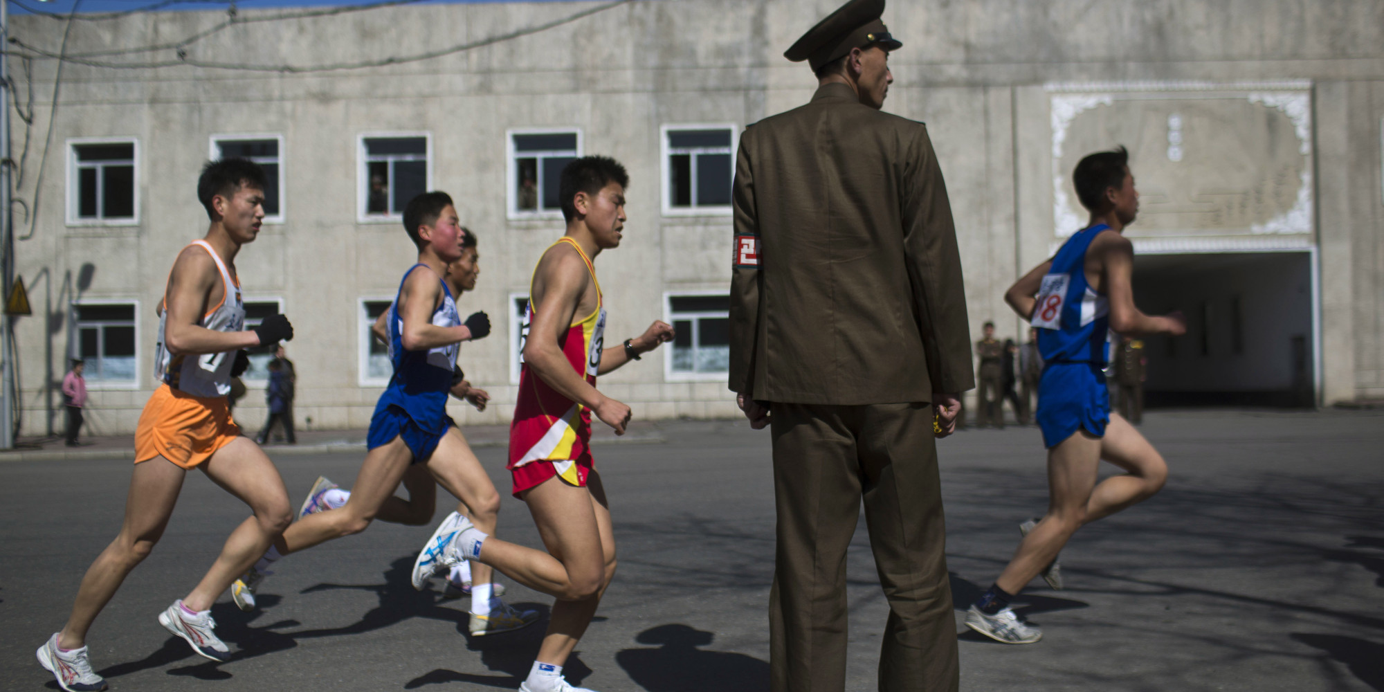 Pyongyang Marathon. Fot. AP Photo/David Guttenfelder