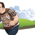 Bieganie z nadwagą Rys. Bartosz Różycki 1