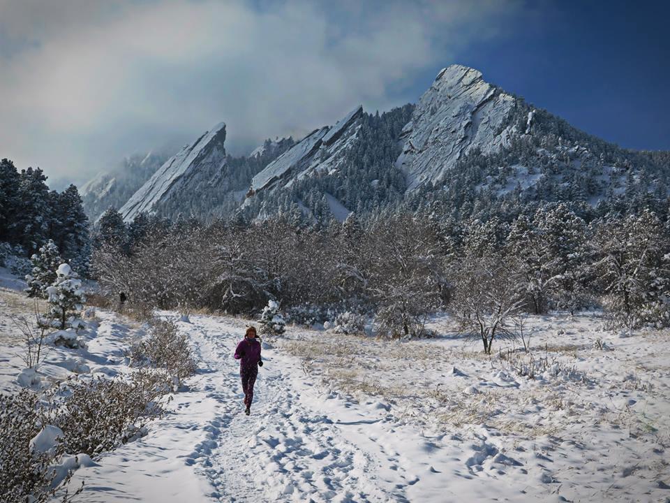 Flatirons Boulder, Kolorado. Fot. Krzysztof Dołęgowski