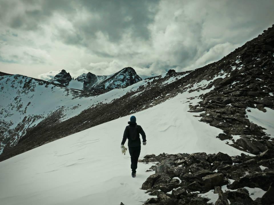 Przed nami Shoshoni Peak, pogoda zaczyna się już co nieco psuć. Fot. Magda Ostrowska-Dołęgowska