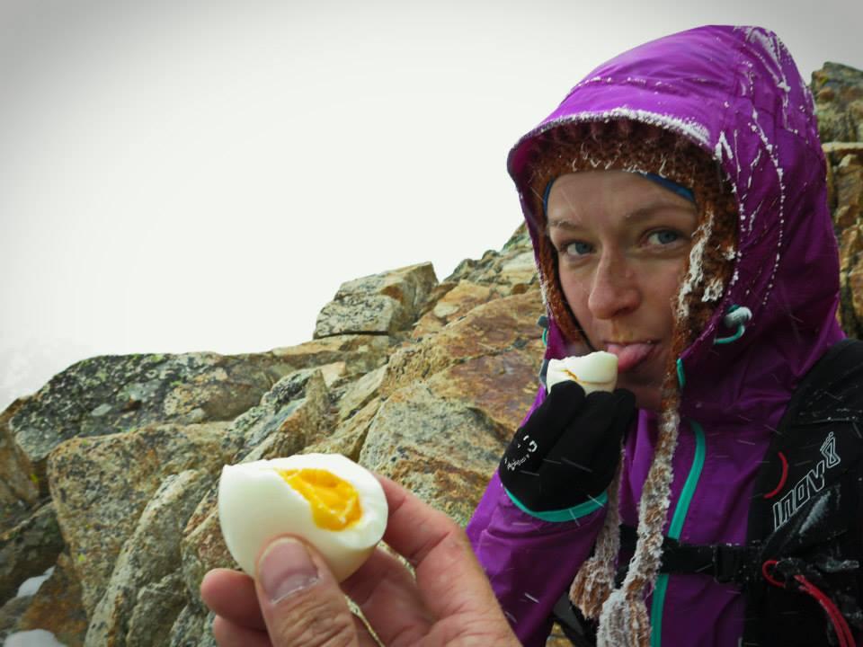 Jajka smakują doskonale ponad 3500 m n.p.m. Fot. Krzysztof Dołęgowski