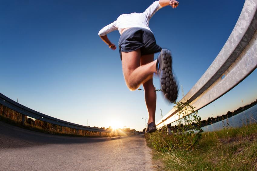 Szybki biegacz. Fot. Istockphoto.com