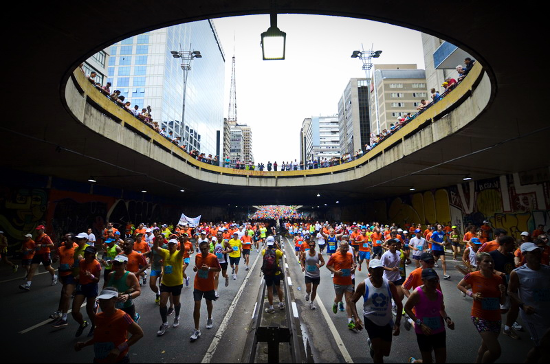 Corrida Internacional de Sao Silvestre 2013. Fot. Getty Images