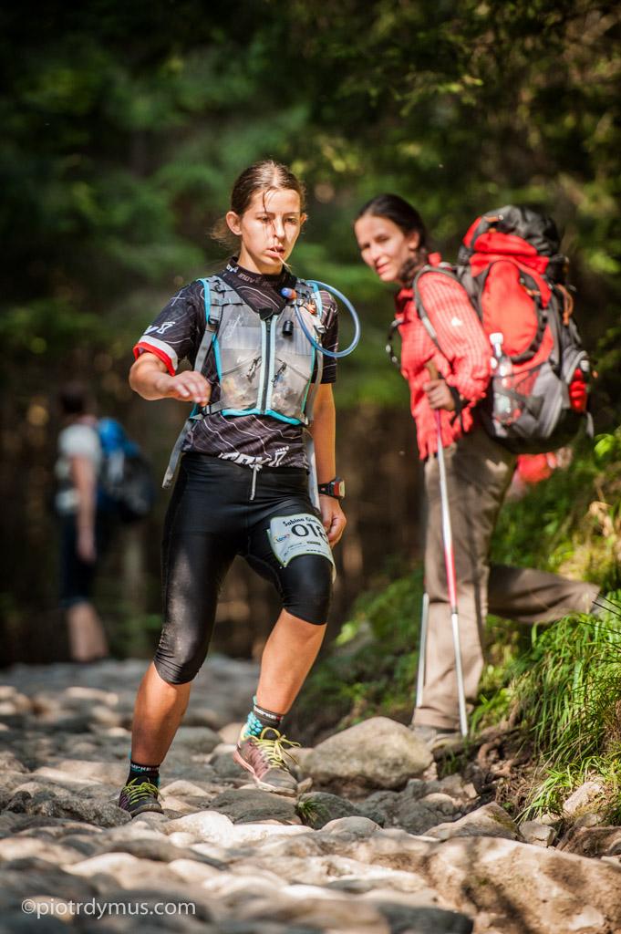 Bieg Ultra Granią Tatr - Sabina Giełzak Fot. Piotr Dymus