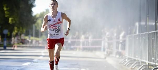 Marcin Chabowski podczas mistrzostw Europy w lekkiej atletyce w 2014 roku. Fot PAP