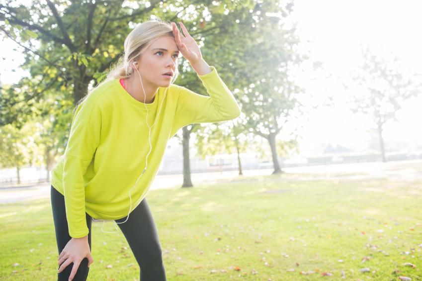 Warto od początku urozmaicać treningi. Odpoczynek po mocnym akcencie. Fot. Istockphoto.com