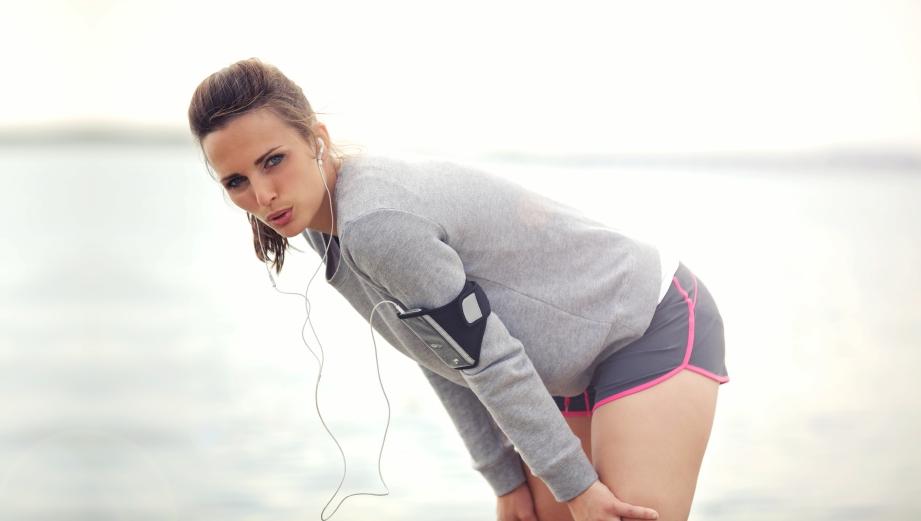 Zmęczona biegaczka. Fot. Istockphoto.com