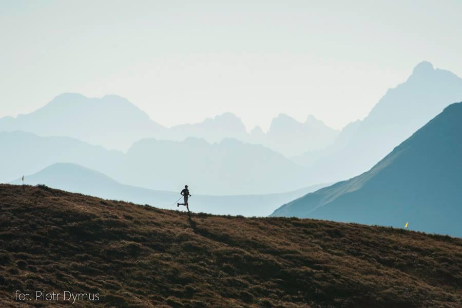 Bieg Ultra Granią Tatr 2013 - jedno z ulubionych zdjęć Piotrka. Fot. Piotr Dymus