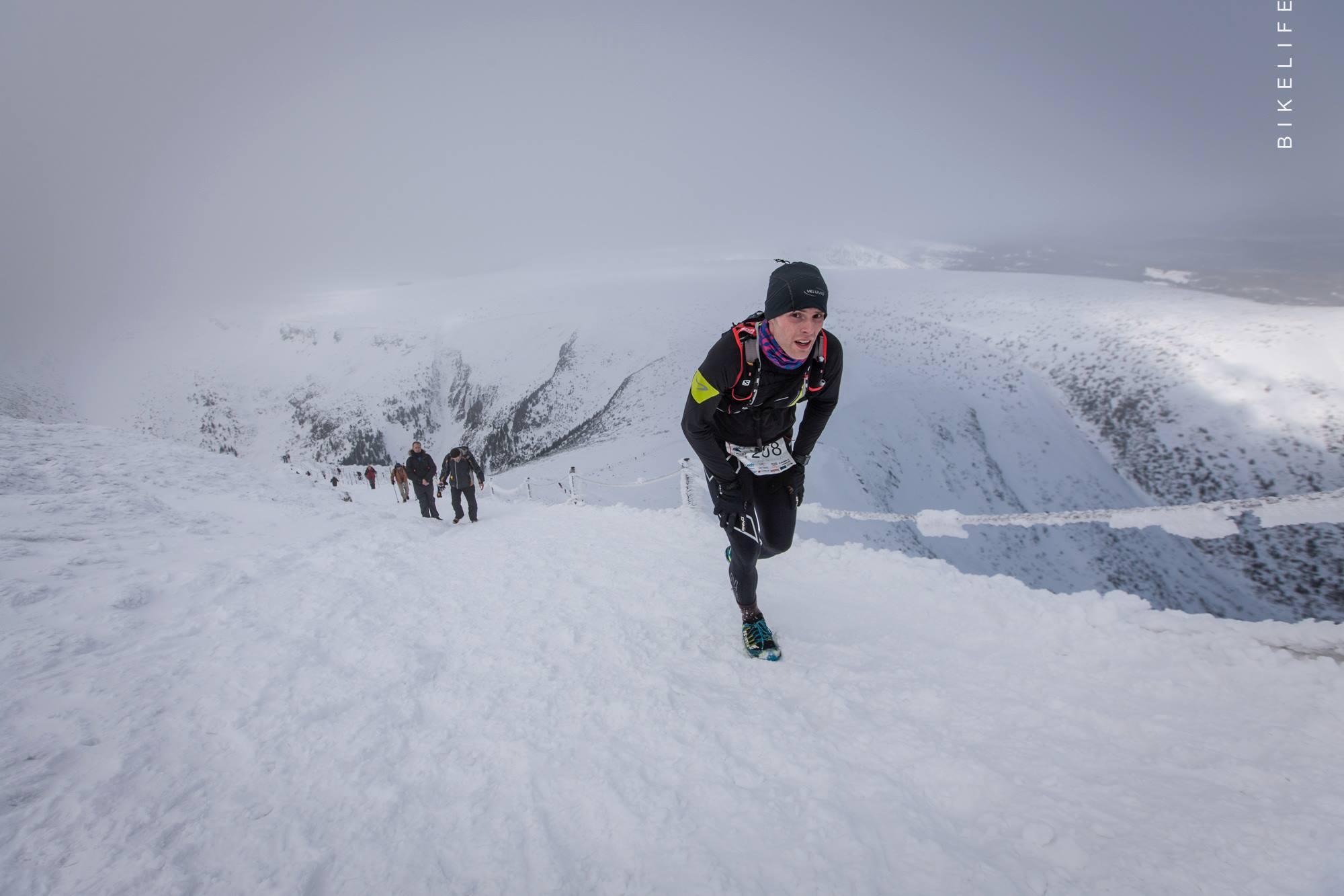 Zimowy Ultramaraton Karkonoski 2015. Fot. BikeLife 02