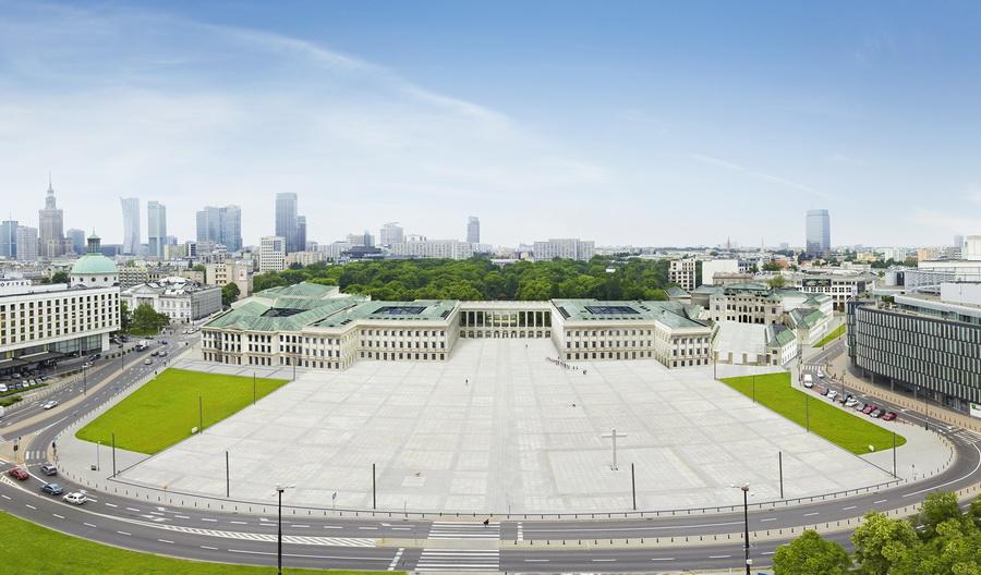 Pałac Saski - saski360