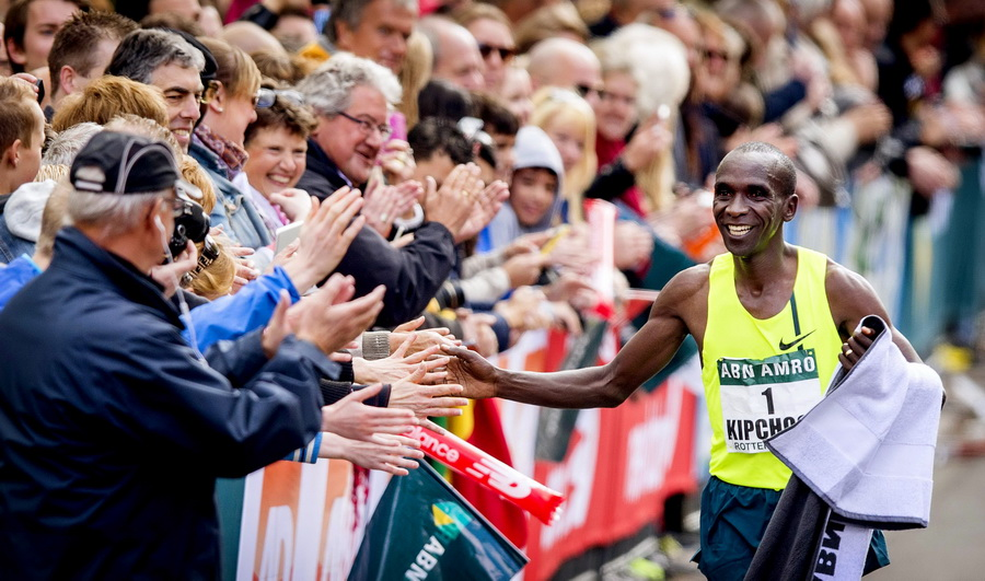 Rotterdam Marathon. Fot. PAP