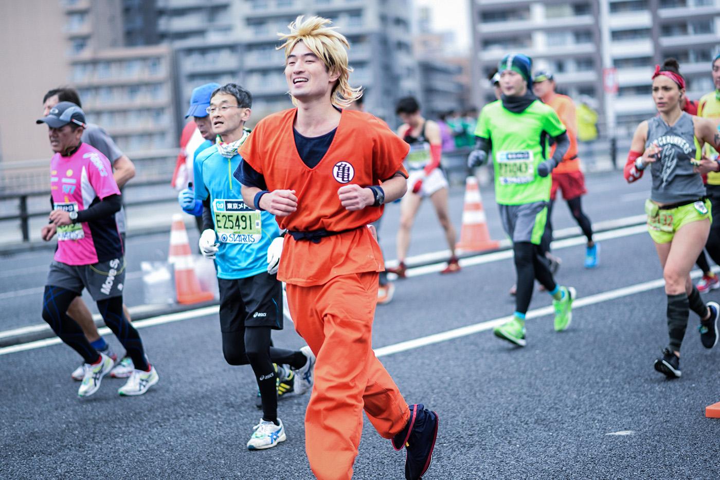 biegacze w Japonii Fot. istockphoto-2