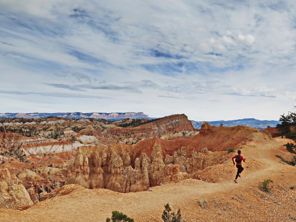 Wycieczka biegowa w Bryce Canyon, USA. Fot. Magda Ostrowska-Dołęgowska