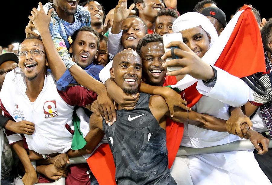 IAAF Diamond League press conference in Doha