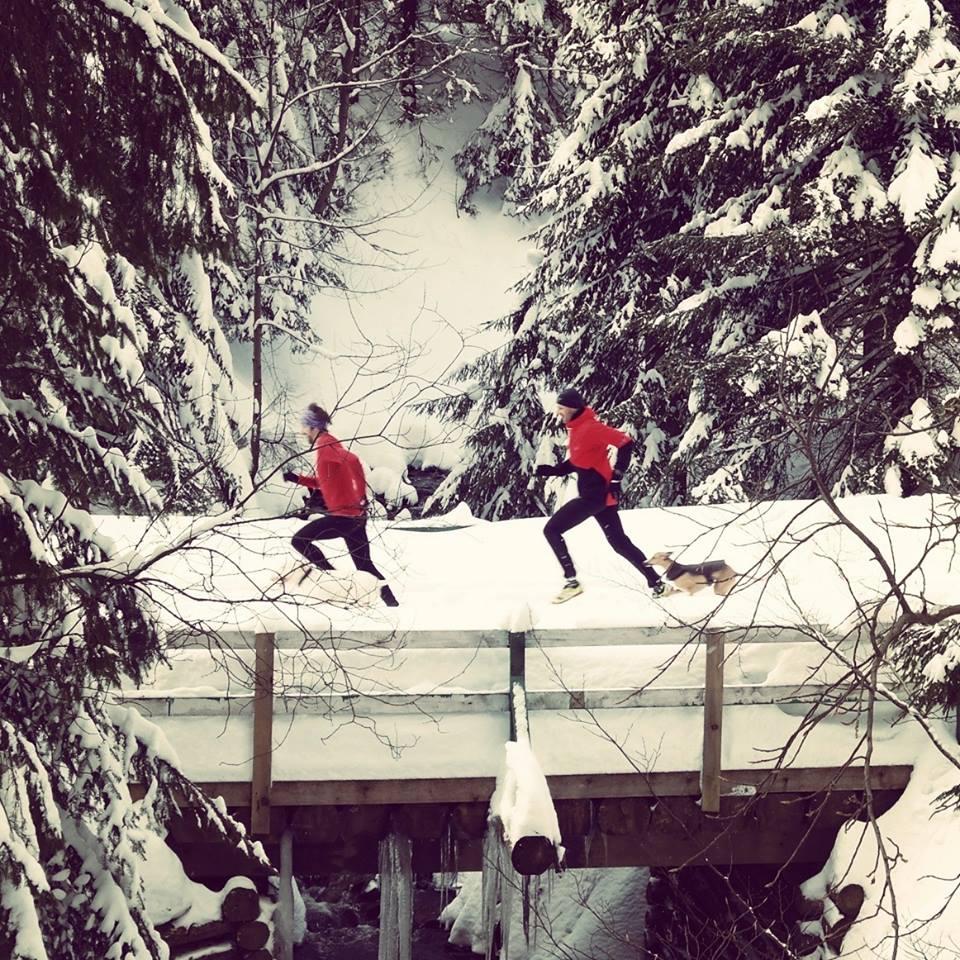 Wycieczka biegowa w gorach Gediminasem Griniusem Fot Gintare Grine