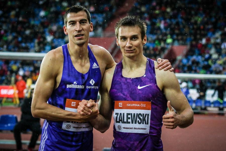 Zalewski i Maslak. Fot. Aleksandra Szmigiel-Wiśniewska