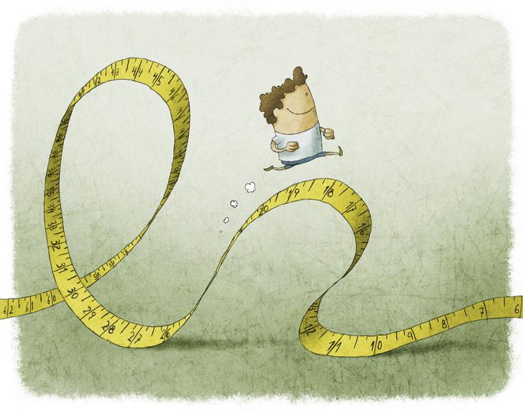 Mniejsza waga startowa niesie ze sobą lepsze wyniki. Fot. Istockphoto.com