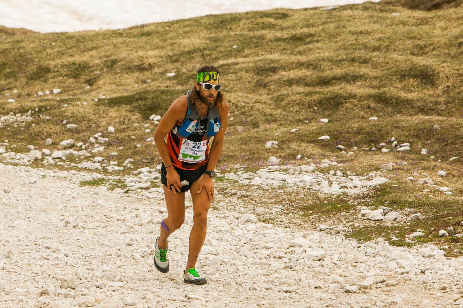 Lavaredo Ultra Trail 2014 - Anton Krupicka. Fot. archiwum organizatora 01