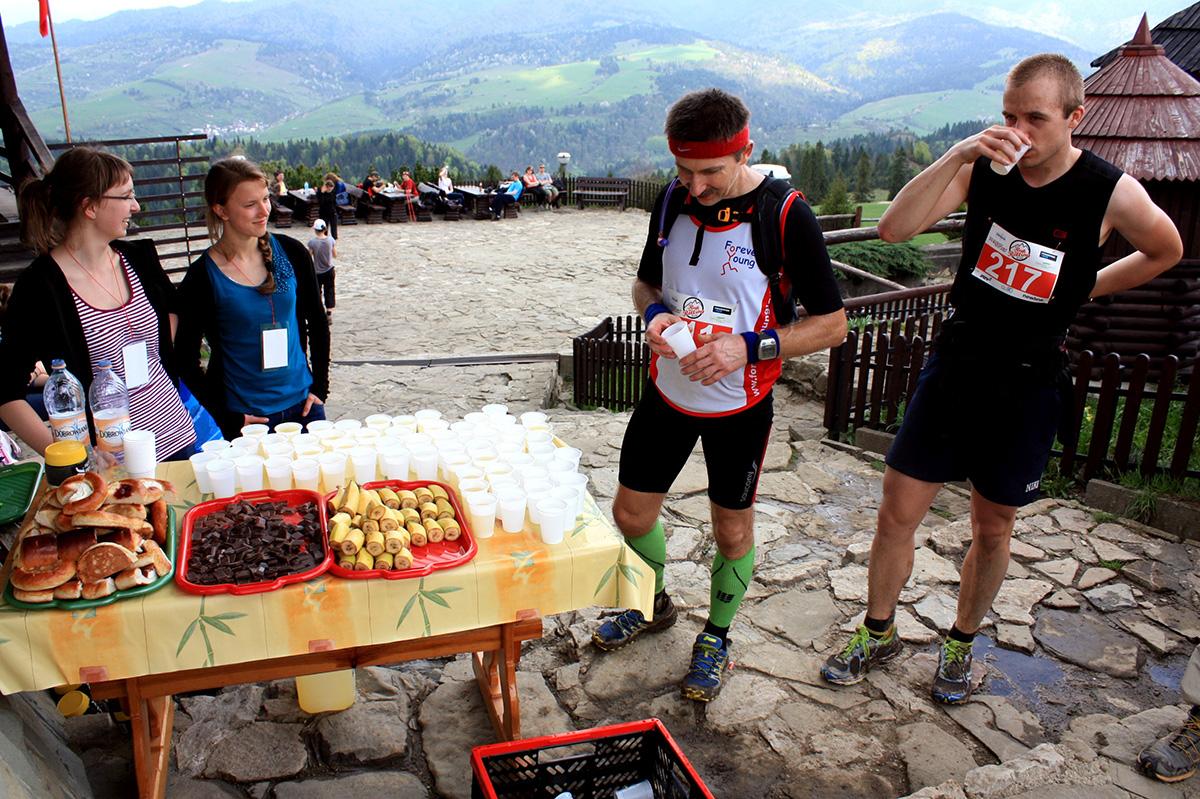 punkt odżywczy - Szczawnica 2013. fot. Marta Tittenbrun