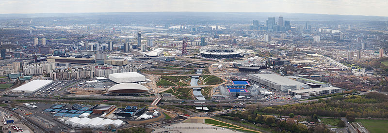 Olympic Park w Londynie. Fot. EG Focus/ Wikimedia Commons
